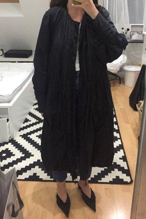 H&M Studio Heavy Raincoat black