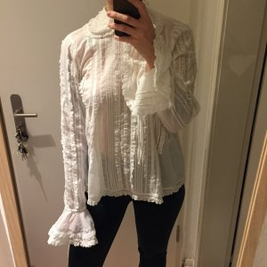 H&M Blouse white-natural white