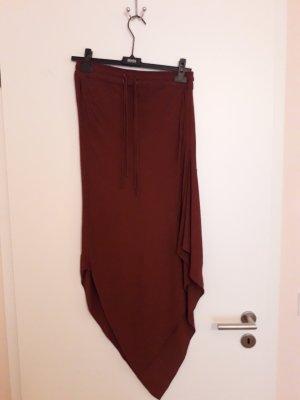 H&M Asymmetry Skirt russet