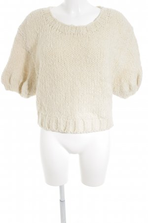H&M Studio Strickpullover creme Casual-Look