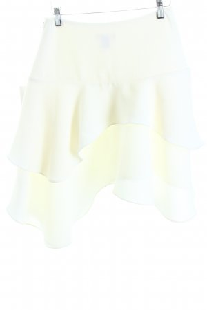 H&M Broomstick Skirt white casual look