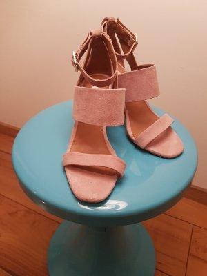 H&M Studio Sandalo con plateau multicolore Pelle
