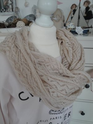 H&M Crochet Scarf pink