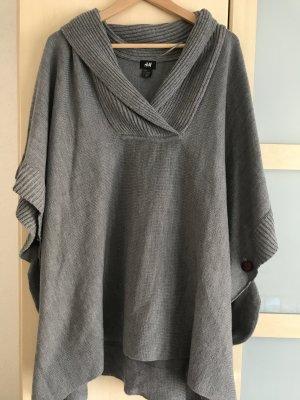 H&M | super schöner Poncho in Grau