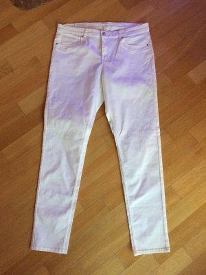 H&M super Stretch Hose Jeans weiß Gr 46 neu mit Etikett