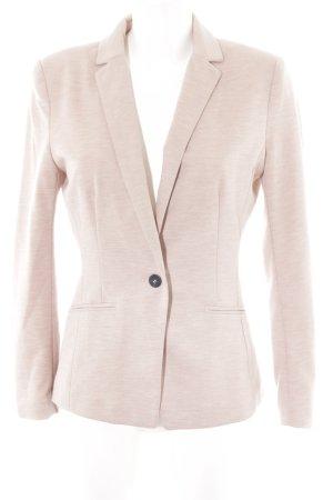 H&M Sweat Blazer dusky pink flecked casual look