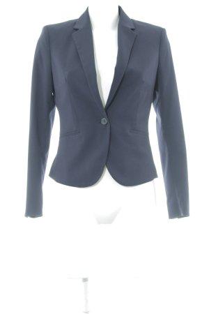 H&M Sweatblazer dunkelblau Business-Look