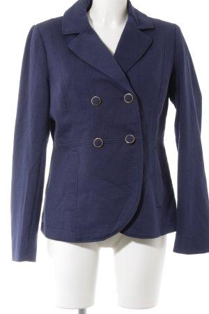 H&M Sweat Blazer dark blue casual look
