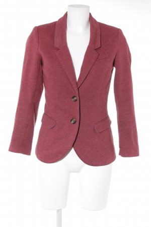 H&M Sweatblazer dunkelrot Business-Look