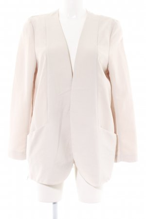 H&M Sweatblazer creme Business-Look