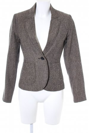 H&M Sweatblazer graubraun Business-Look