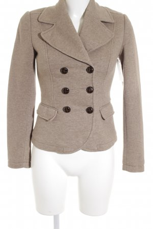 H&M Sweat Blazer grey brown flecked casual look