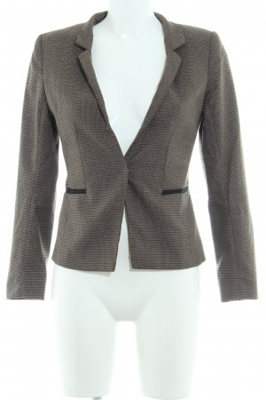 H&M Sweat Blazer houndstooth pattern business style