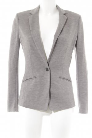 H&M Sweatblazer hellgrau Casual-Look