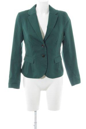 H&M Blazer de tela de sudadera azul cadete estilo «business»