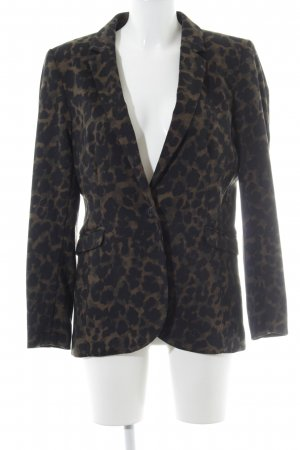 H&M Sweat Blazer leopard pattern animal print