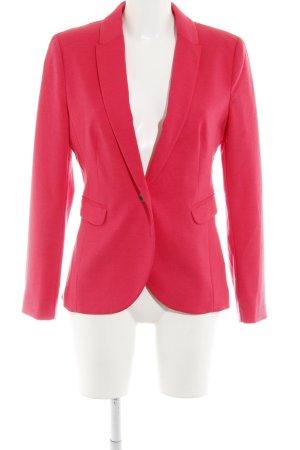 H&M Sweat Blazer magenta casual look