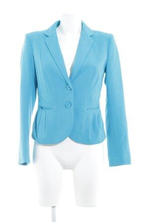 H&M Blazer de tela de sudadera azul neón estilo extravagante
