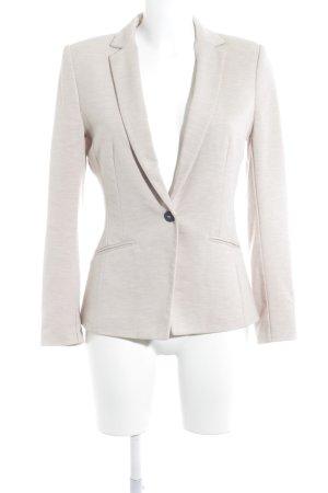 H&M Blazer de tela de sudadera nude moteado look casual