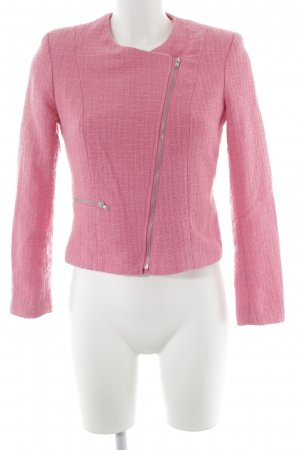 H&M Sweatblazer rosa meliert Casual-Look