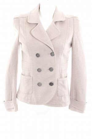 H&M Sweat Blazer rose-gold-coloured casual look