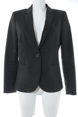H&M Sweatblazer schwarz Business-Look