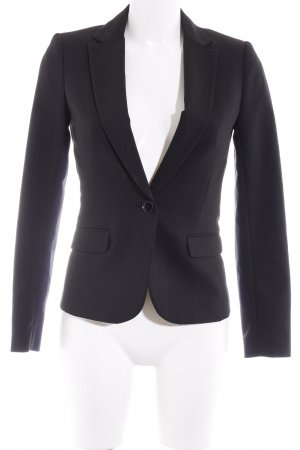 H&M Sweatblazer schwarz Punktemuster Business-Look