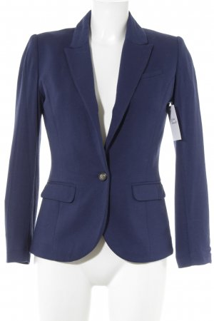 H&M Sweatblazer stahlblau Business-Look