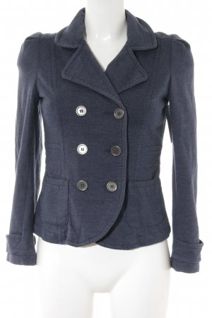 H&M Sweatblazer stahlblau Casual-Look