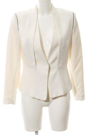 H&M Sweatblazer wollweiß Elegant