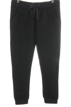 H&M Pantalone fitness nero motivo trapuntato stile casual