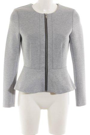H&M Veste sweat gris clair moucheté style d'affaires