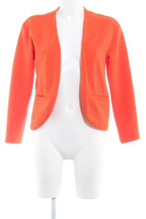 H&M Sweatjacke orange Steppmuster Casual-Look