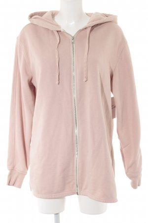 H&M Sweatjacke rosé Casual-Look