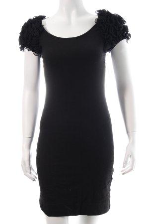 H&M Sweatkleid schwarz klassischer Stil