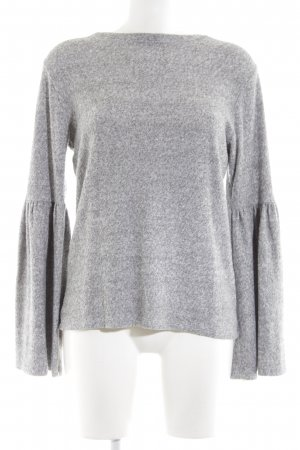 H&M Suéter gris claro look casual
