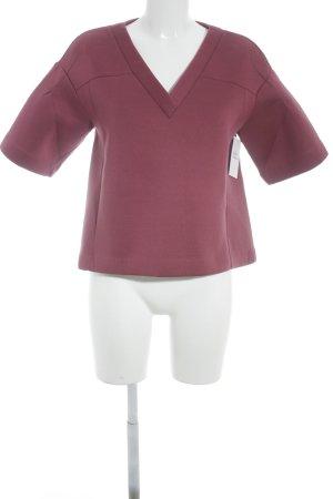 H&M Sweatshirt bordeauxrot Casual-Look