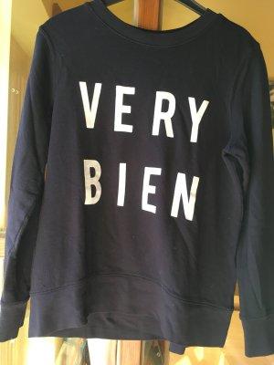 H&M Sweatshirt dunkelblau