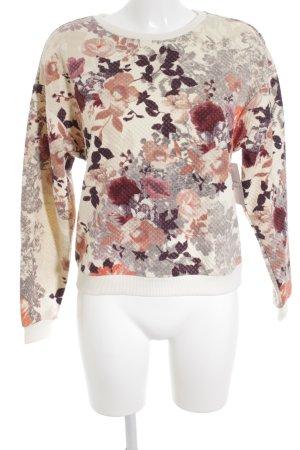 H&M Sweatshirt florales Muster Casual-Look