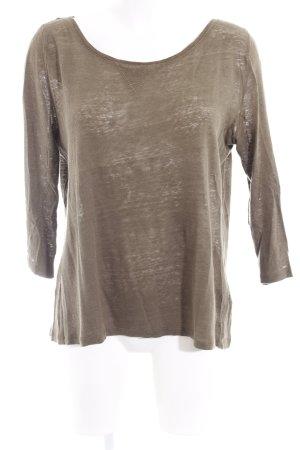 H&M Sweatshirt grüngrau Casual-Look
