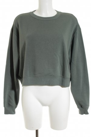 H&M Sweatshirt khaki sportlicher Stil