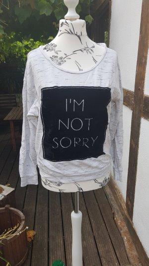 H&M Sweatshirt meliert Gr. M 38 40