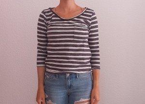 H&M Sweatshirt mit 3/4 Ärmel Gr. M