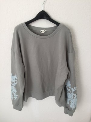 H&M Sweatshirt mit Applikationen