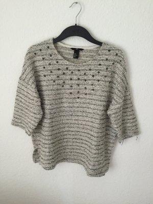 H&M Sweatshirt mit Nieten