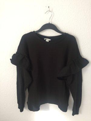 H&M Sweatshirt mit Volants