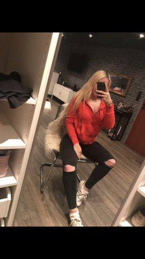 H&M Sweatshirtjacke rot