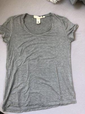 H&M T-shirt zilver-grijs