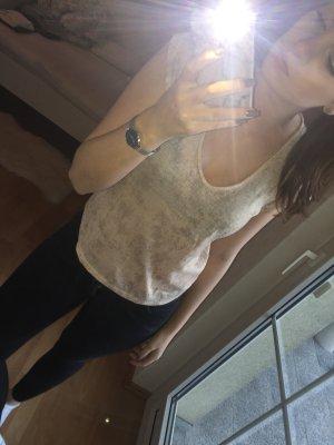 H&M T-shirt zilver-roségoud