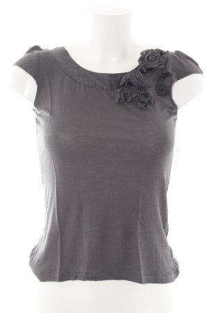 H&M T-Shirt anthrazit Business-Look